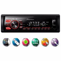 Radio Automotivo Bluetooth Pioneer Mvh-288bt Usb Modelo 2016