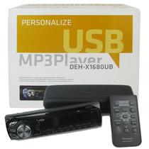 Mp3 Player Usb - Deh-x1680ub - Pioneer.