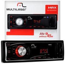 Auto Radio Automotivo Multilaser Max P3208 Usb Sd Card Aux