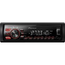 Aparelho Som Carro Pioneer Mvh-088ub Radio Usb Mp3 Am Fm