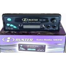Rádio Automotivo Digital H-buster Hbr-1000 Am/fm/auxiliar