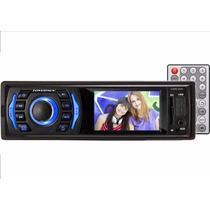 Toca Radio Automotivo Com Tela Powerpack Mp4 5 Usb Sd Fm