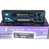 Rádio Automotivo Digital H-buster Hbr-1000 Am/fm/auxiliar
