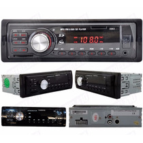 Auto Radio Som Carro Automotivo Toca Fm Usb Mp3 Pendrive Sd