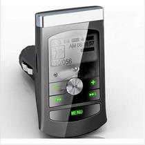 Transmissor Fm Mp3 Leitor Sd Usb Apenas R$ 18,00