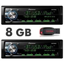 Mp3 Player Pioneer Mvh-568bt Lançamento + Pendrive 8gb