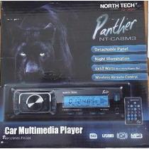 Auto Radio Automotivo Mp3 Usb Sd Am/fm North Tech Panther