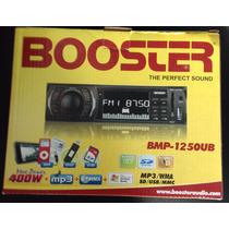 Radio Automotivo Mp3, Usb, Buster Bmp-1250ub Mp3,wma,usb,sd