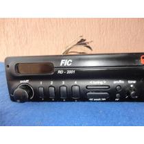 Radio Antigo Fic, Modelo Rd - 2001 - Am/fm - Tone Leia Tudo