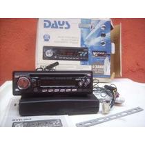 Auto Rádio Cd Player Days Dyd-202 - Com Defeito