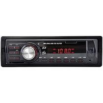 Auto Rádio Usb/sd/mp3/fm 25w Rms 5983 Preto Leadership