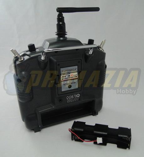 Radio Turnigy 9x 9ch V2 + Receptor Rx 8ch Para Aero/heli