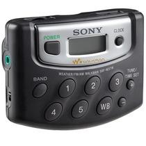 Rádio Walkman Portátil Digital 18 Am Fm Sony Srf M37