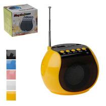 Rádio Usb De Bolso Portátil Fm Digital Usd+sd Card Fone Aux