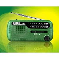 Radio Fm Am Lanterna Alarme Carregador De Celular Solar