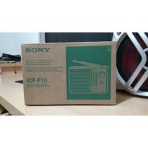 Radio Portátil Sony Icf-f10 Am/fm 2 Bandas