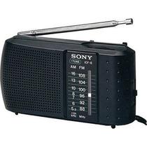 Rádio De Bolso Portátil Sony Icf-8 Pocket Am / Fm.