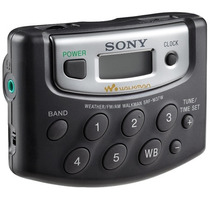 Rádio Walkman Portátil Digital 18 Am Fm Sony Srf M37