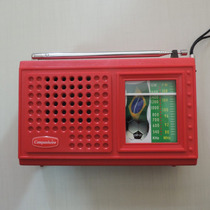 Rádio Receptor Portátil Companheiro Crp-21 2 Faixas Am Fm