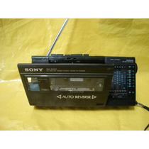 Radio-grav. Mini-portatil Sony Wa-8000 -9fx - Reverse/baixei