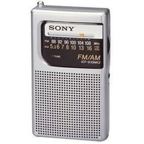 Rádio Portátil Sony Icf-s10mk2 Pocket Am/fm Am Fm.