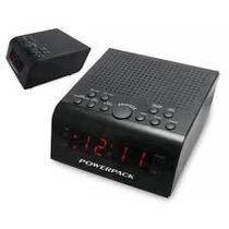 Rádio Relógio Powerpack Ra-224