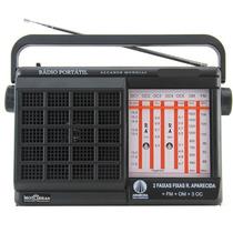 Rádio Portátil Motobras Rm-pft72ac
