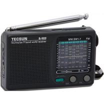 Radio Portatil Tecsun R-909 Fm/mw E Sw1-7-muito Lindo,s/ Cx.