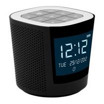 Rádio Relógio Domani Dgd21j Fm Digital Visor Lcd 2 Alarme