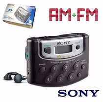 Rádio Walkman Portátil Digital Am Fm Sony Srf M37 P Presente