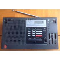 Sony Icf-2001 Radio Receptor Fm Am Ondas Curtas Japan