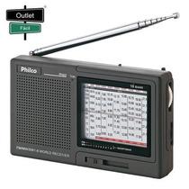 Outletfacil - Rádio Portátil Philco 10 Faixas