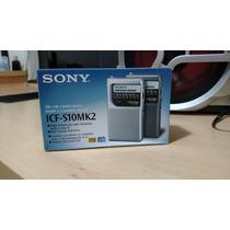 Radio Portátil Sony Icf-s10mk2 Am/fm 2 Bandas