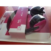 Fone De Ouvido Multilaser Haste Ajustável C/microfone Rosa
