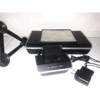 Mp3 Rádio Relógio Caixa De Som Portátil Entrada P2 Celular