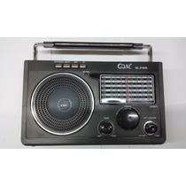 Rádio Portátil C/ Mp3 Usb/sd Antena 360º Goal-315ux