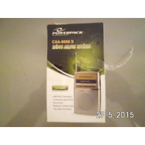 Radio Power Pack Cxa 9008.s Am/fm 2bandas Fone De Ouvido