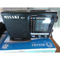 Mini Radio 9 Bandas Am/fm Misaki