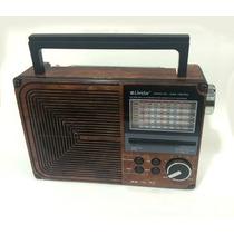 Rádio Portátil Am\fm\ Usb\sd Livstar Recarregável