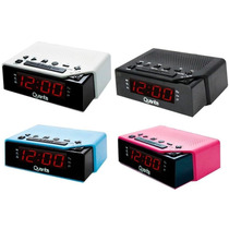 Radio Relogio Digital Am/fm 2 Alarmes 12x S/juros