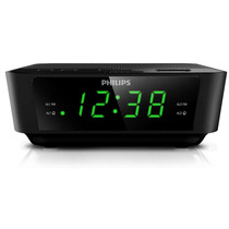 Rádio Relógio Digital Philips Aj3116