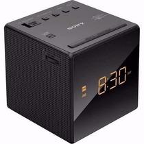 Rádio Relógio Sony Icf-c1 Am/fm Led Função Snooze - 127v