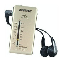 Walkman Sony Srf-s84 Am-fm Mega Bass ,bom Presente