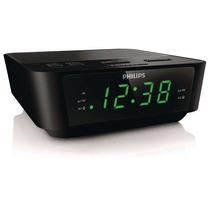 Rádio Relógio Philips Digital Aj3116 Bivolt Duplo Alarme Fm