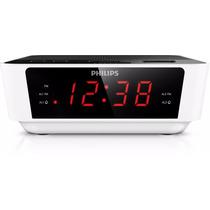 Rádio Relógio 2 Alarme Despertador Digital Aj3116 Philips Bi