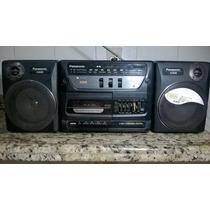 Radio Gravador Panasonic Rx-cs720 Micro System Funciona Bem