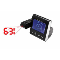 Rádio Relógio Portátil Powerpack Rf-236-n Fm/pll