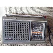 Radio Motoradio 3 Faixas Para Peças Ou Reparo