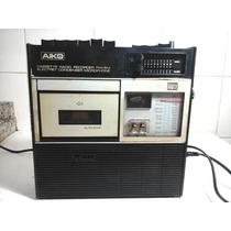 Radio Gravador Aiko Atpr-406 Funciona Bem Entrada Auxiliar