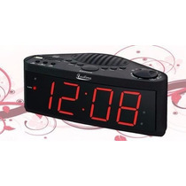 Radio Relógio Facilima Sig-613 Am/fm Jumbo Display Bivolt
